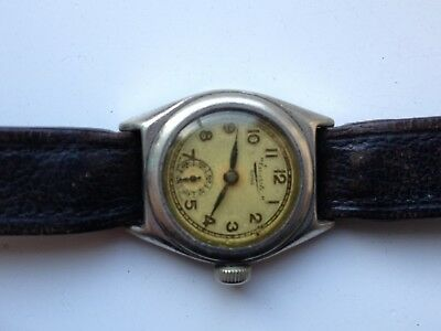 Antique Everite King Antimagnetic Manual Wind Swiss Made Watch