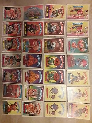 Images Les Crados US GPK 1986 ( 63 cartes)