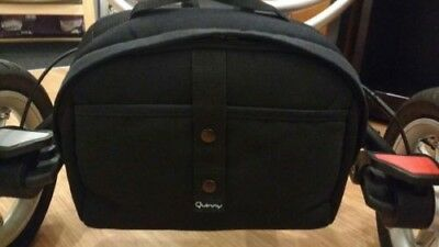 Quinny Buzz Clip-on under pram  storage bag/nappy bag in black
