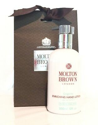 Molton Brown Gingerlily Hand Lotion - 300ml *NEW/FREE POSTAGE*