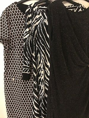 Bundle of womens Work Dresses Size 14, One From Dorothy Perkins, 2 From Wallis