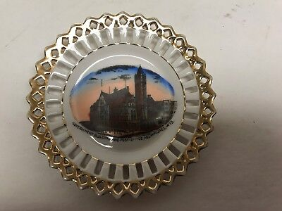 Government Building and Post Office Milwaukee Wisconsin Advertising Plate German