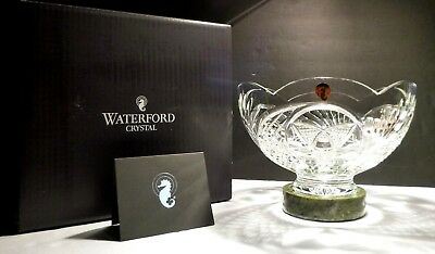 *NEW* Waterford Crystal HERITAGE OF IRELAND Centerpiece with Connemara Marble