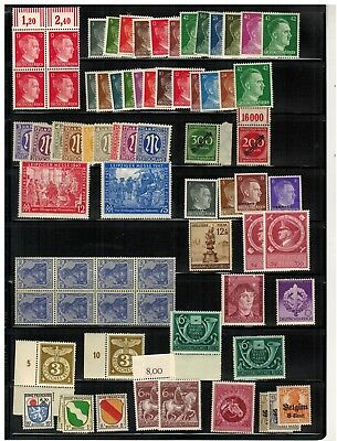 Lot of Germany Old Stamps MNH