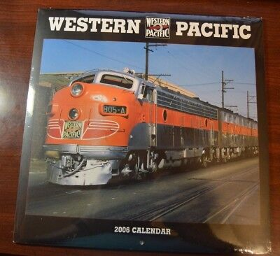 WP Western Pacific - 2006 Calendar Factory Sealed NEW