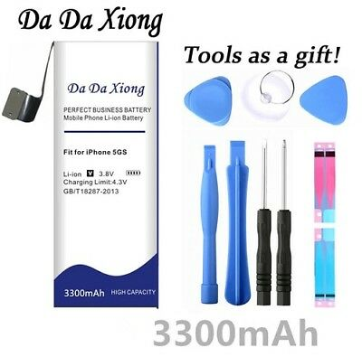 Da Da Xiong 3300mAh For Apple iPhone 5S battery for iphone 5C battery +Free Tool