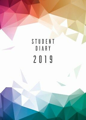 Colplan 2019 Student Diary A5 Week to View SC37 Popular School Booklist Item