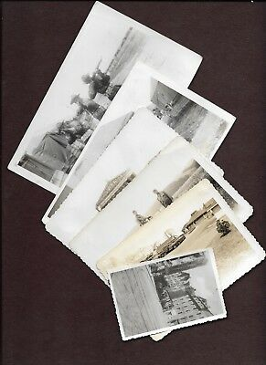 6 WWII era Soldiers Photographs