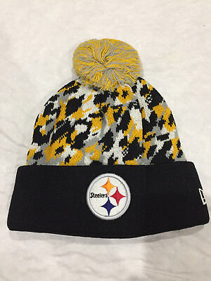 f3a7359b3 PITTSBURGH STEELERS PRIME Team NFL Beanie Knit Hat winter Cap Cuffed ...