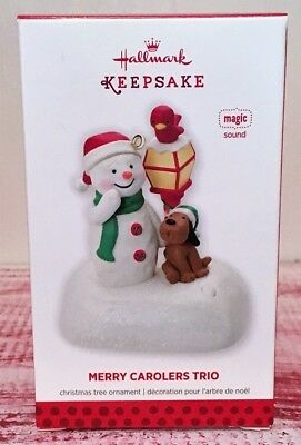 Hallmark 2013 Merry Carolers Trio Ornament