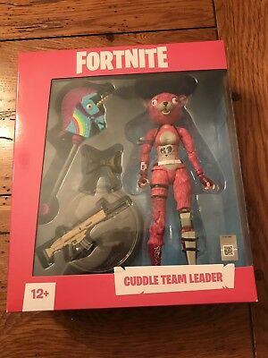 """McFarlane Toys Epic Games FORTNITE CUDDLE TEAM LEADER  7"""" Action Figure IN STOCK"""