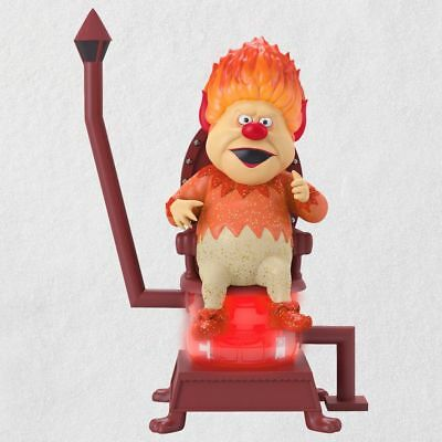 2018 Hallmark  HE'S MR. HEAT MISER!  The Year Without A Santa Claus Ornament