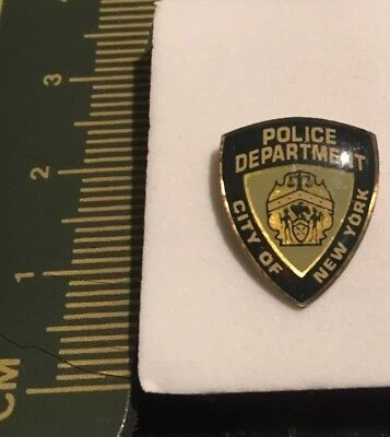 New York City Police NYPD Lapel Pin - Police/ LEO / Govt. - Law Enforcement