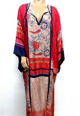 NWT Johnny Was Flower Ombre Kimono Dress - M / L - OL19951218