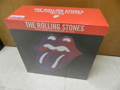 NEW VINYL BOXSET Rolling Stones 1971-2016 Studio Vinyl Album Collection Sealed