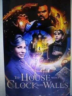 The house with a clock in its walls bluray only or dvd(read description)12/18