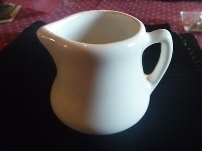 H F Coors 161 China Pottery Creamer Restaurant Ware Heavy Duty Cream Pitcher