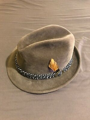 The Sovereign Stetson Fedora. Vintage 7 1/4