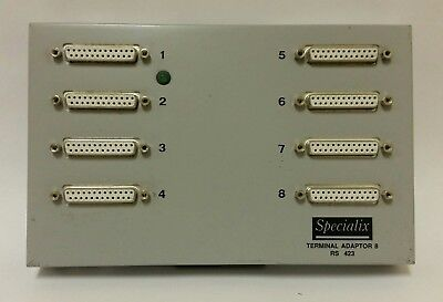 SPECIALIX 00-040000 TERMINAL Adapter 8 RS-423