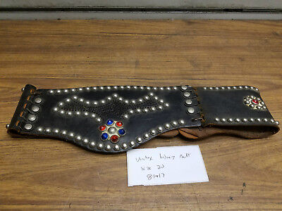 Vintage Kidney Belt Riding Gear Harley Panhead Knucklehead Indian 40's Buco Beck
