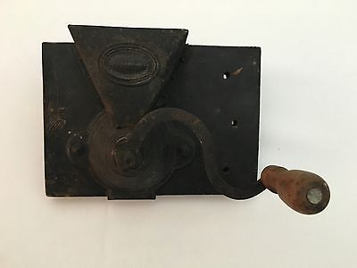 Antique Primitive Side Mill Coffee Grinder Increase Wilson New London