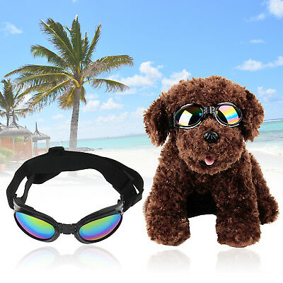 Dog UV Sunglasses Sun Glasses Glasses Goggles Eye Wear Protection Windproof CS
