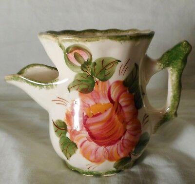Vintage Cash Family Pottery Tea Strainer Pitcher