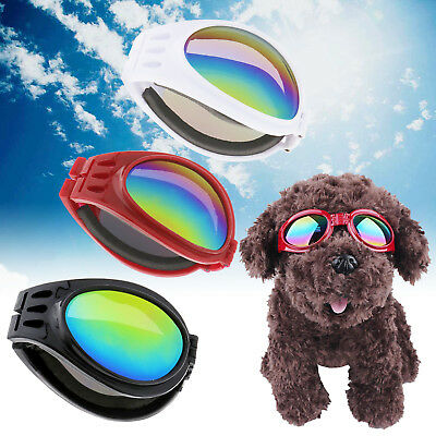 Pet Dog Doggy Anti-wind Glasses UV Sunglasses Toys Protection Eye Wear Goggles