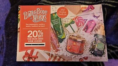 Bath And Body Works 20% OFF Coupon Codes ASAP immediate discount Christmas