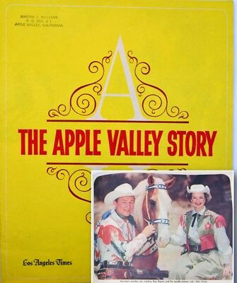 The Apple Valley Story Los Angeles Times 1965 ROY ROGERS Article 1965 VTG 1960s