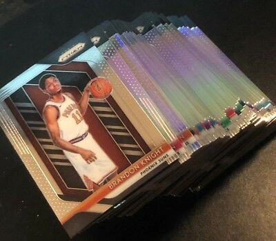 2018-19 Prizm Basketball - SILVER PRIZMs - Pick Your Card - Complete a Base Set