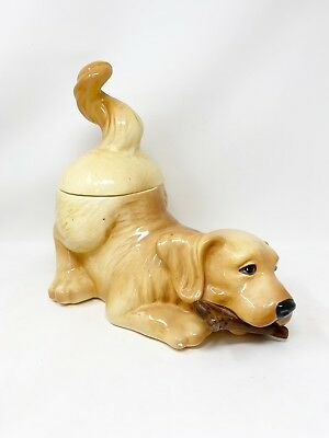 Big Sky Carvers Canine Kitchen Collection Yellow Labrador Dog Cookie Jar