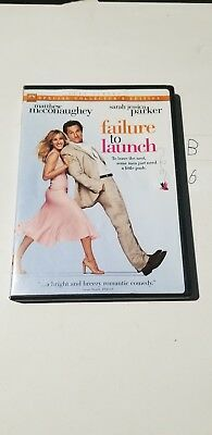 Failure to Launch (DVD, 2006, Special Collectors Edition) MaConaughey, Parker