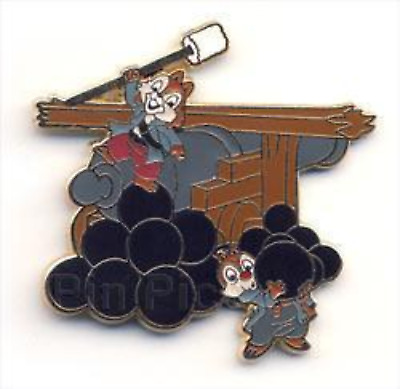 Disney Pin 68416 Pirates of the Caribbean Starter Set 2009 Chip and Dale Only #