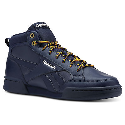 3fbc1943043 Reebok Classics Reebok Royal Complete PMW men Trainers Blue High Tops  Lifestyle