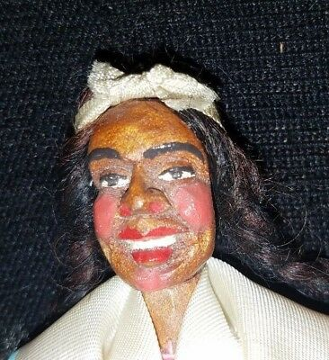 Cherokee Antique Wooden Doll Native American Indian (same seller/new site)