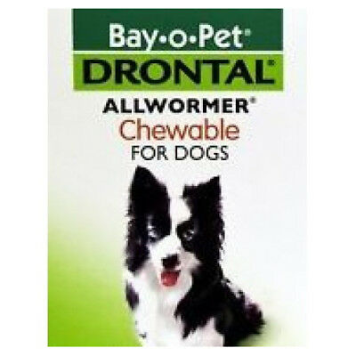 Drontal Allwormer Chewables For Dogs (One Chewable)