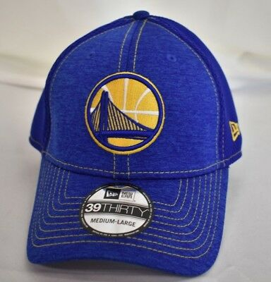 new product aae9a 001f9 New Era NBA 39Thirty Golden State Warriors Stretch Fit Hat Cap New M L