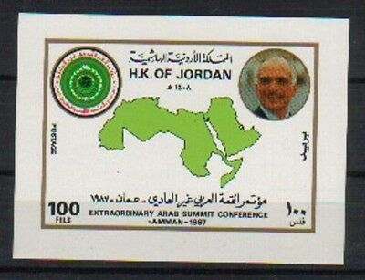 Jordan Arab Summit Conference Ss Mnh L54 Sca