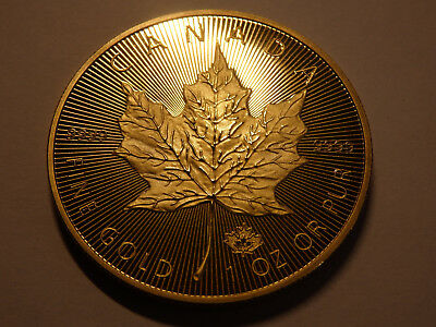 1 OZ Maple Leaf 2015 Canada 50 Dollars