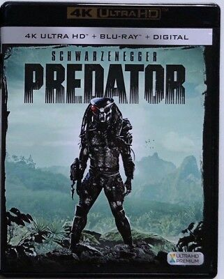 Predator 4K Ultra Hd Blu Ray 2 Disc Set Free World Wide Shipping Buy It Now