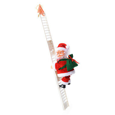 Special Singing Electric Stair Climbing Santa Claus Toy Batteries Not Included