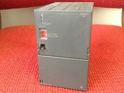 Siemens - Simatic -S7 Power Supply model #6ES7 307 - 1EA00-0AA0