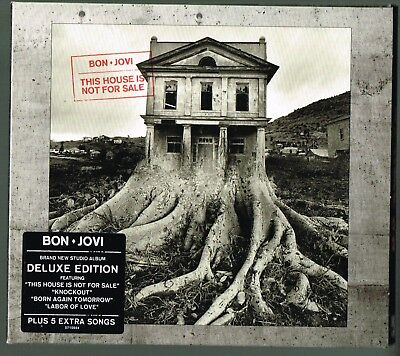 Bon Jovi This House Is Not For Sale CD Deluxe Edition Digipak 2016 American Rock