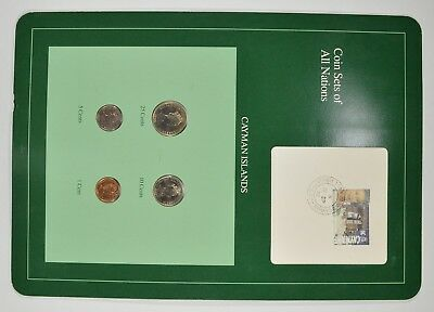 Coin Sets of All Nations - Cayman Islands - Stamp & Coin Set *4001