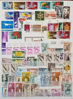 Israel Lebanon Middle East Used and Mint Stamps Collection Lot # 7