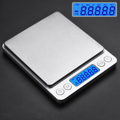 3000g * 0.01g LCD Digital Pocket Scale Jewelry Gold Balance Weight Scales Useful