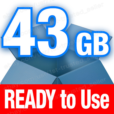 **BRAND NEW** Dropbox Cloud Storage 43 GB account = 18 LIFETIME + 25 for 1 Year