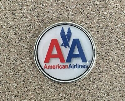 AMREICAN AIRLINES 777  787  airlines Logo Pin Badge Lapel .✈️✈️
