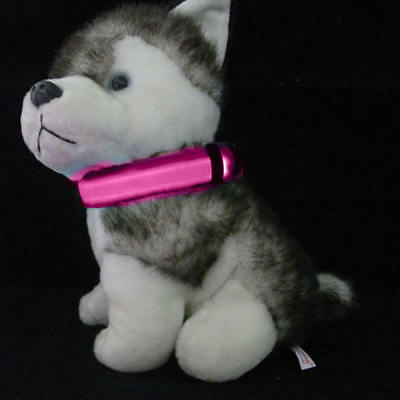 LED Collar Dog Cat Puppy Pet Tag Flashing Light Safety Polyester Leash Harness